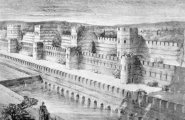 """Bilenler bilir Fatih'in Edirnekapısı, şehre kuzeyden girecek olanların destur alıp girdikleri ve """"Dur ey yolcu girmekte olduğun şehir, üç imparatorluğun varisi, Doğu'nun ve Batı'nın incisi, iki kıtanın birleştiği yerde Allah'ın bir mucizesi olan Şehr-i İstanbul'dur."""" dedirten görkemli Theodosius Surlarıyla çepeçevre sarılı olmasıyla dikkatleri celb eder. İşte bu surlara bitişik olarak inşa edilmiş Tekfur Sarayı, Blakhernai Sarayı kompleksinin parçalarından biridir ve klasik Roma saray yapısının İstanbul'daki tek örneği olarak çağlar ötesinden taşıdığı tarihi mesajın ağırlığıyla yükselir."""