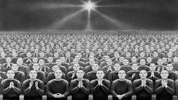 Aldous Huxley'in 1932'de yazdığı Cesur Yeni Dünya, distopya türü denildiğinde akla ilk gelen romanlardan biridir. Romanda yüzlerce yıl sonrası tasvir edilse de aslında yazarın amacı 20. yüzyılın kronikleşmiş sorunlarına yeni bir dünya modeli sunmaktır.