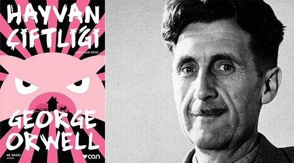 George Orwell'ın II. Dünya Savaşı'nın sonlarına doğru yazdığı Hayvan Çiftliği, Stalin rejimine bir eleştiridir. karşı sert bir taşlamadır. Romanın alt başlığı 'Bir Peri Masalı'dır. Romandan derlediğimiz 20 alıntıyı sizlerle paylaşıyoruz.