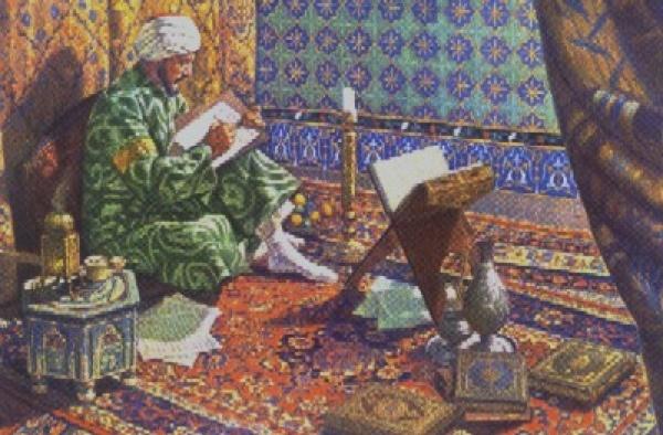 Taberî ilim yolcuğuna çıktığında sadece 12 yaşındaydı  Günümüzde Mâzenderan adını taşıyan, İslam kaynaklarında ise Taberistân adıyla bilinen İran'daki eyaletin Âmül şehrinde 839 yılında dünyaya gelen Taberî'nin, maruf olduğu şekliyle kullanılan bu nisbesi Taberistân coğrafyasında doğmuş olması dolayısıyladır. Taberî'nin çiftçi olan babası, bir gün rüyasında çocuğuyla alakalı bir rüya görür ve bunun yorumunda günün birinde çocuğunun büyük bir âlim olarak dinini savunacağını öğrenince çocuğunun eğitimine büyük önem verir. İlk öğrenimini doğduğu şehirde alan Taberî, burada Kur'ân-ı Kerîm'i ezberledi ve çeşitli temel ilimler aldı.