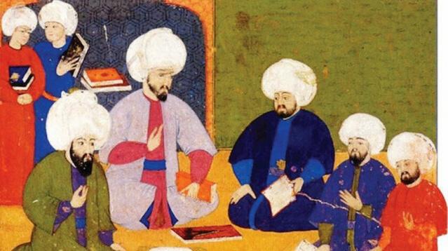 Osmanlı âlimleri de ilim tahsili için seyahate çıkmışlardı  Bursa'da dünyaya geldiği düşünülen meşhur Osmanlı âlimi Molla Fenârî ilk öğrenimini babasından alır. Buradaki eğitimini tamamlamasının ardından Sultan Murad Hüdâvendigâr devrinin meşhur âlimlerinden olan Alâeddin Ali Esved'den istifade etmek amacıyla İznik'e gitti. Sonrasında gittiği Amasya'da Osmanlılar'ın ilk devrinde yetişen tefsir, lugat, edebiyat ve tıp âlimi olan Cemâleddin Aksarâyî'nin öğrencisi oldu ve 1376 yılında kendisinden icâzet aldı. Arap dili, kelâm ve fıkıh âlimi Seyyid Şerîf el-Cürcânî ile birlikte dönemin en büyük ilim merkezlerinden biri olan Kahire'ye gitti. Burada meşhur Hanefî fakihi Ekmeleddin el-Bâbertî başta olmak üzere çok sayıda âlimden ders aldı.