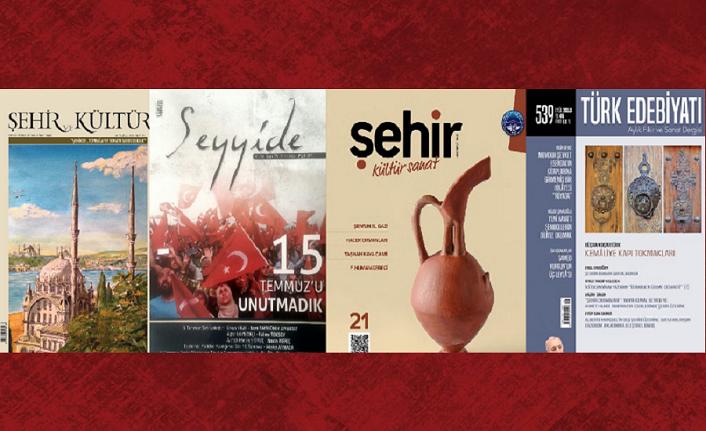 Eylül 2018 dergilerine genel bir bakış