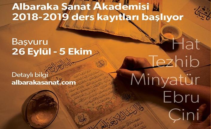 Türk-İslam Sanatları kurs kayıtları başladı