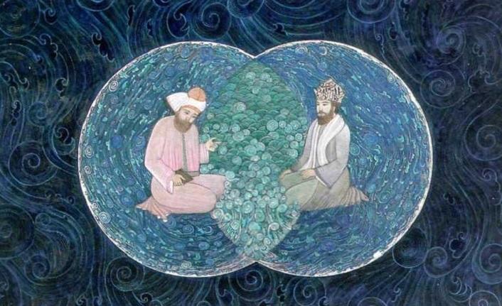 İki ummanın kavuşmasıdır Mevlana ile Şems-i Tebrizî'nin tanışması