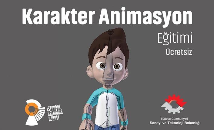 Karakter Animasyon Eğitimi İstanbul Tasarım Merkezi'nde