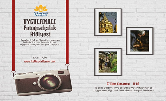 Uygulamalı Fotoğrafçılık Atölyesi