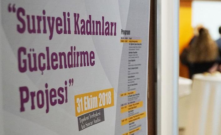 İstanbul Arel Üniversitesi'nden 'Suriyeli Kadınları Güçlendirme Projesi'