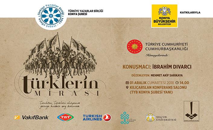 ''Türklerin Mirası'' konferansı