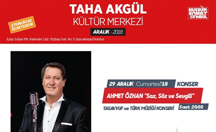 Ahmet Özhan konseri