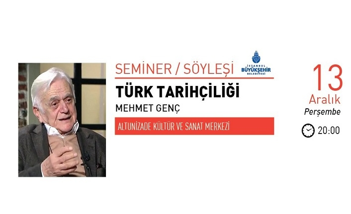 Mehmet Genç ile Türk Tarihçiliği