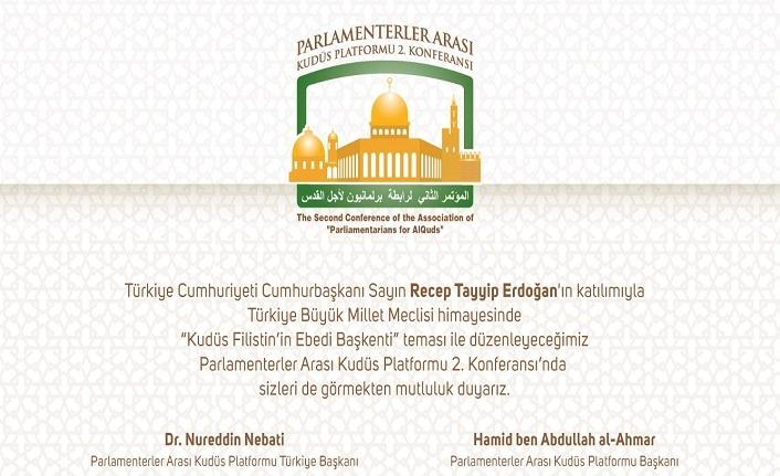 Parlamenterler Arası Kudüs Platformu 2. Konferansı