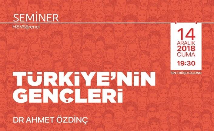 Türkiye'nin Gençleri seminerde buluşuyor