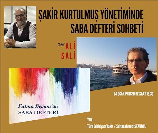 Ali Sali  ile  yeni kitabı üzerine söyleşi
