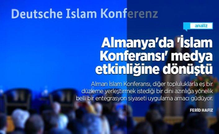 Almanya'da 'İslam Konferansı' medya etkinliğine dönüştü