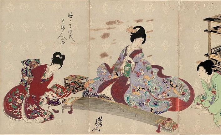 'Bir güzün güzelliği çiğlere düşmüş gibi' ölür bir Japon