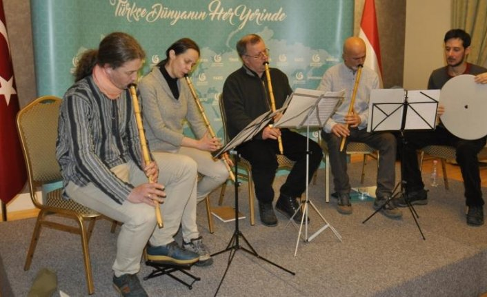 Budapeşte Neyhane'de ilk konser verildi