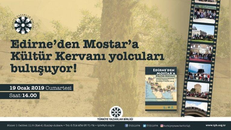 Edirne'den Mostar'a Kültür Kervanı yolcuları buluşuyor