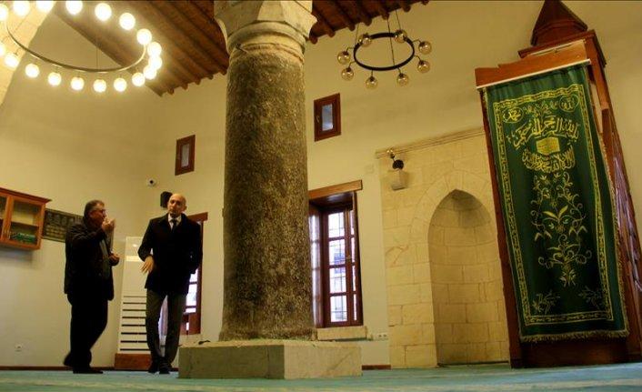 Hatay'da tarihi Sarımiye Cami yeniden ibadete açıldı
