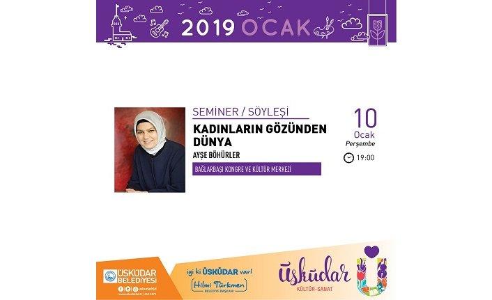"""""""Kadınların Gözünden Dünya"""" semineri"""