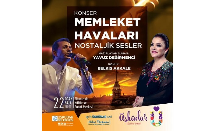 Konser: Memleket Havaları Nostaljik Sesler