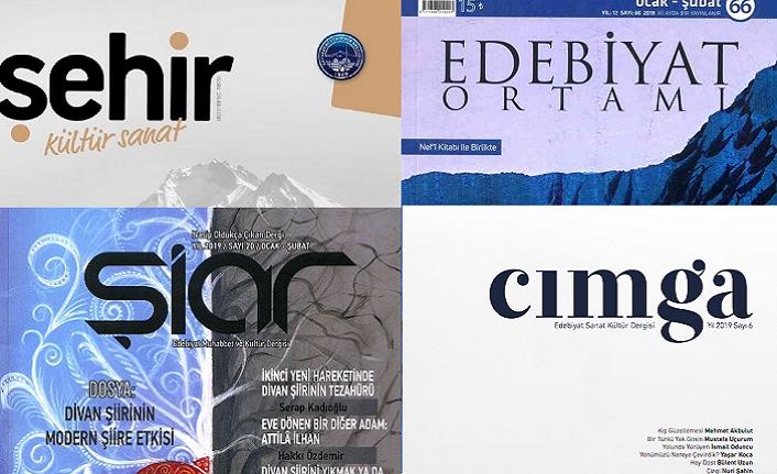Ocak 2019 dergilerine genel bir bakış-2