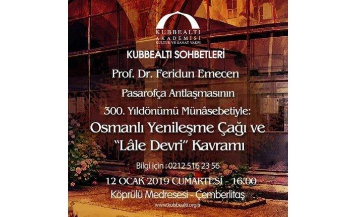 Prof. Dr. Feridun Emecen Kubbealtı Sohbetleri'ne misafir oluyor