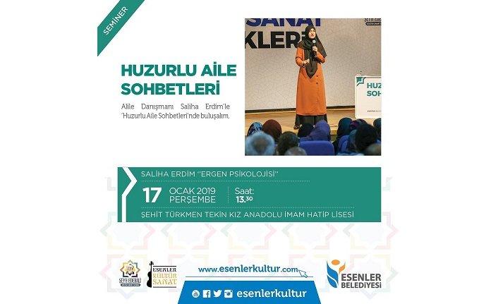 Seminer: Huzurlu Aile Sohbetleri