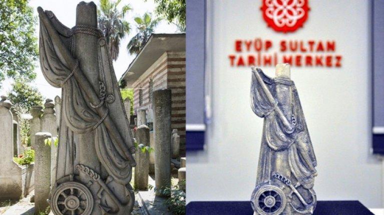 Zarar verilen ve çalınan Osmanlı mezar taşlarının dijital arşivi oluşturulacak