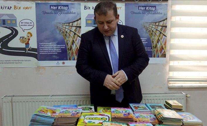 İstanbul'dan Tunceli ve Mardin'deki çocuklara kütüphane