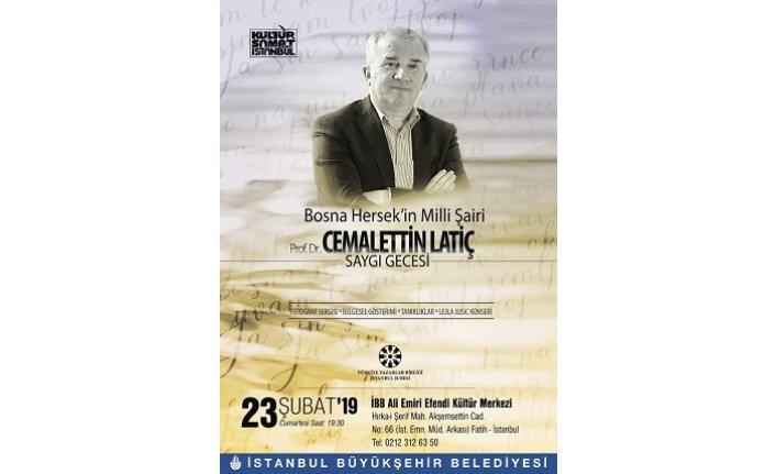Prof. Dr. Cemalettin Latiç saygı gecesi
