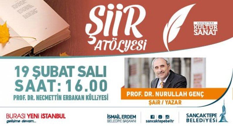Prof. Dr. Nurullah Genç ile Şiir Atölyesi devam ediyor.