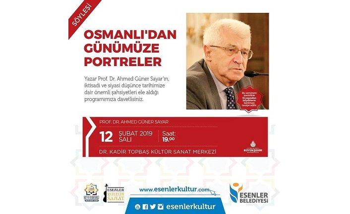"""Söyleşi: """"Osmanlı'dan Günümüze Portreler"""""""