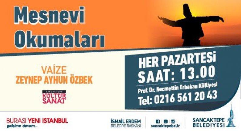 Vaize Zeynep Ayhun Özbek ile Mesnevi okumaları