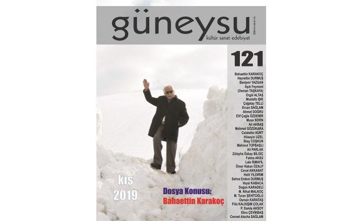 Güneysu dergisinin 121. sayısı çıktı