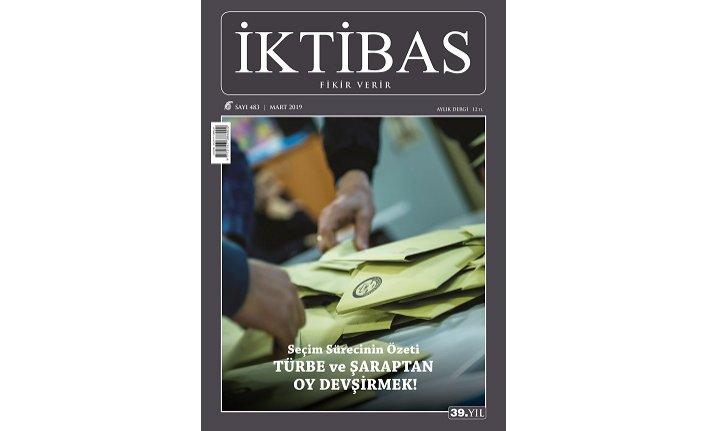 İktibas'ın Mart sayısı çıktı