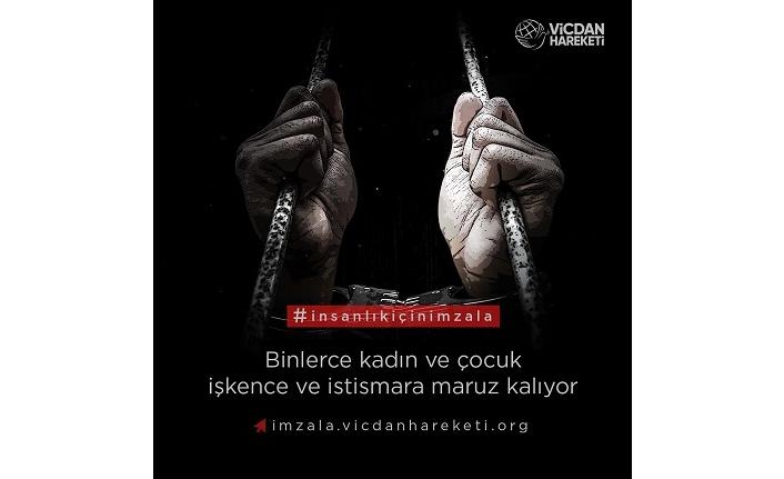 Suriye zindanlarındaki kadın ve çocuklar için imza kampanyası başlatıldı