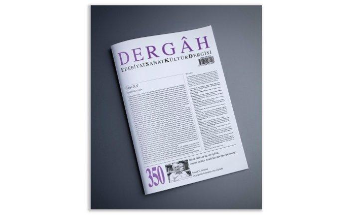 Dergâh dergisinin 350. sayısı çıktı