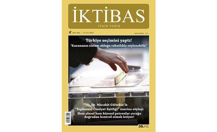 İktibas dergisinin Nisan sayısı çıktı