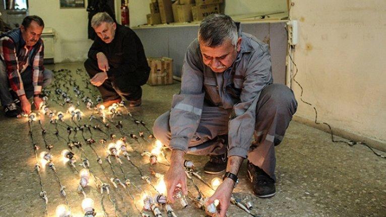 Osmanlı geleneği mahyalar, Ramazan'a hazırlanıyor