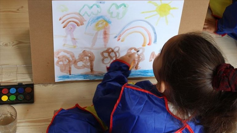 MEB'den anaokuluna gidemeyen çocuklara yazın eğitim imkanı