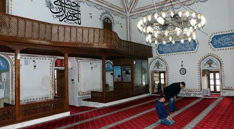 Osmanlı'nın Trakya'daki ilk mirası Hızırbey Camii Ramazan'a hazır