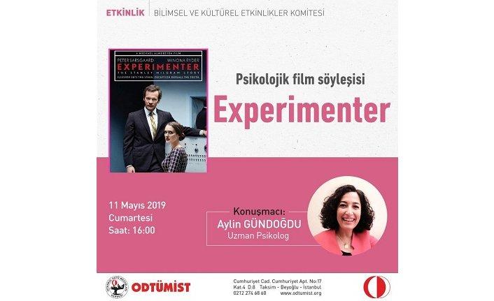 "Psikolojik Film Gösterimi ""Experimenter"""