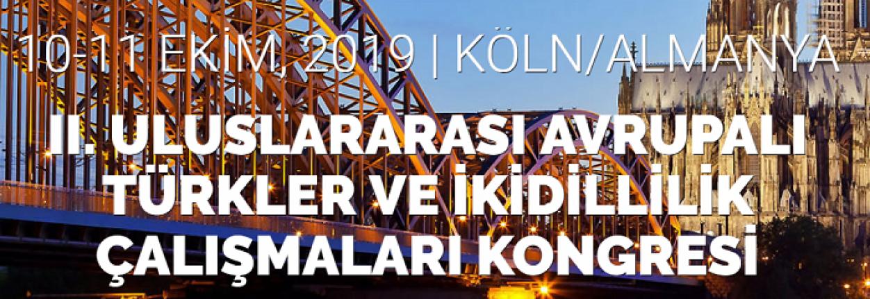 II. Uluslararası Avrupalı Türkler ve İkidillilik Çalışmaları Kongresi
