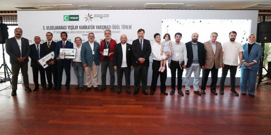 Yeşilay Karikatür Yarışması düzenlendi