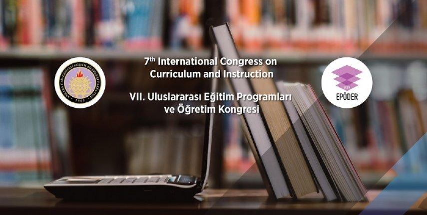 7. Uluslararası Eğitim Programları ve Öğretim Kongresi