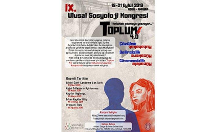 9. Ulusal Sosyoloji Kongresi