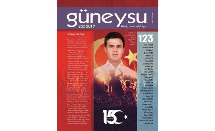Güneysu dergisinin 123. sayısı çıktı