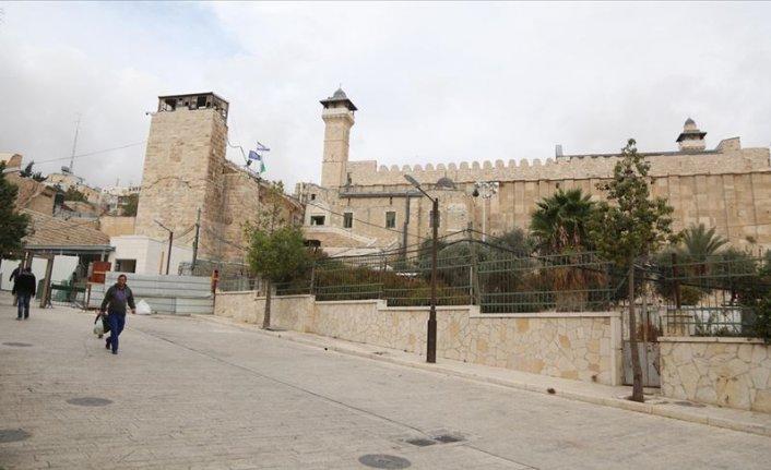 İsrail Harem-i İbrahim Camii'nde 294 defa ezanı yasakladı
