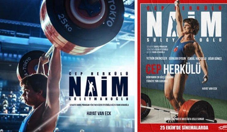 Naim Süleymanoğlu'nun hayatını anlatan film 25 Ekim'de vizyonda