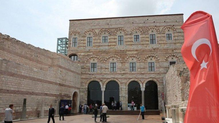 Tekfur Sarayı Müzesi'nin ziyaretçi sayısı artıyor